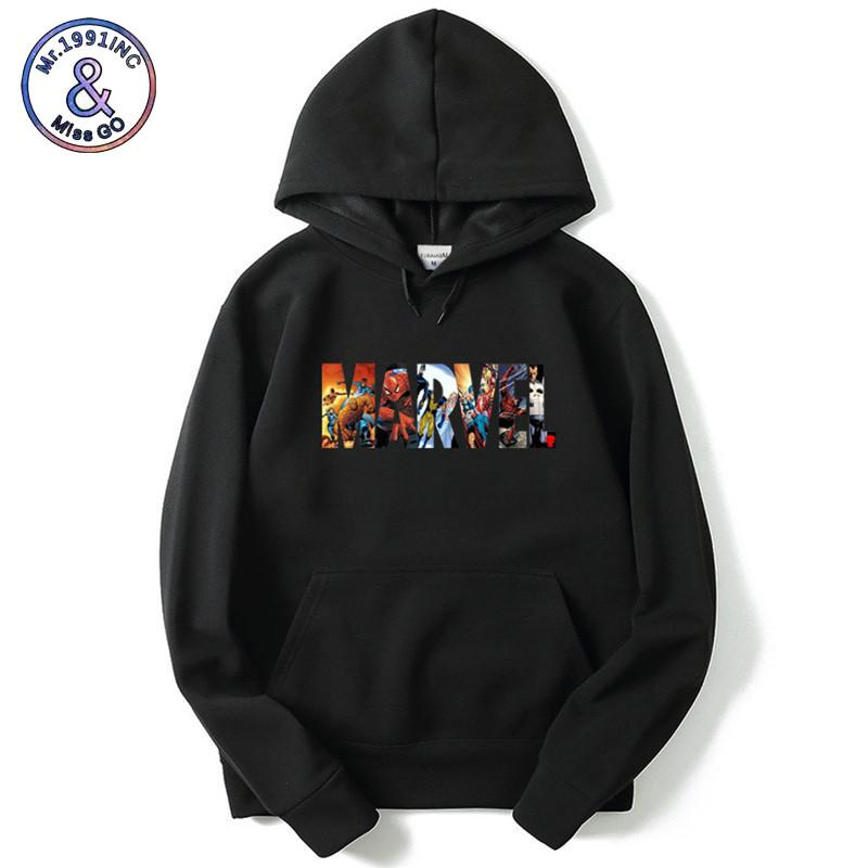 Casual Uomo Marvel Felpa Brand Hoodies Donna Con Acquista qRwF8C