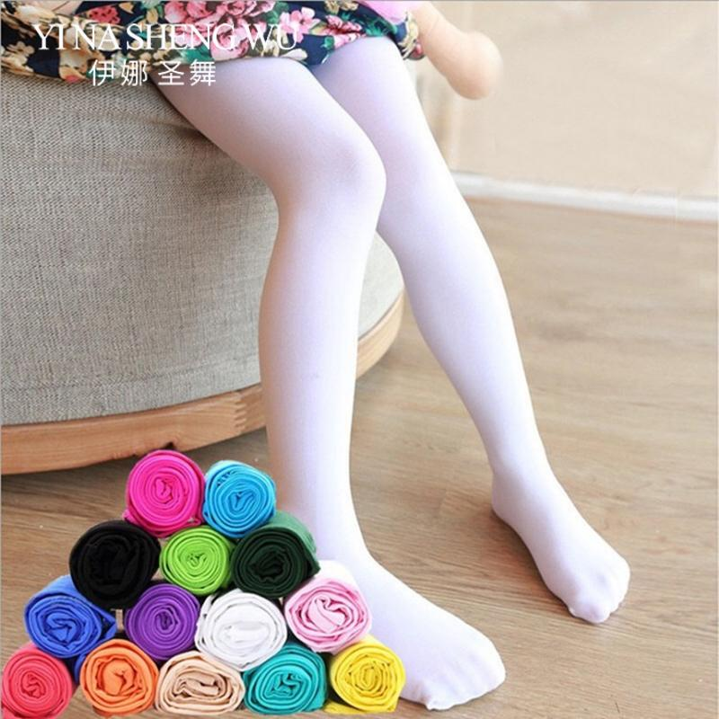 e5816e433b4a1 2019 Girls Thin Section Fashion Pantyhose Baby Velvet Tights Children  Ballet Dance Stockings Spring Summer Kids Dance Tights From Yuanbai, $38.31  | DHgate.
