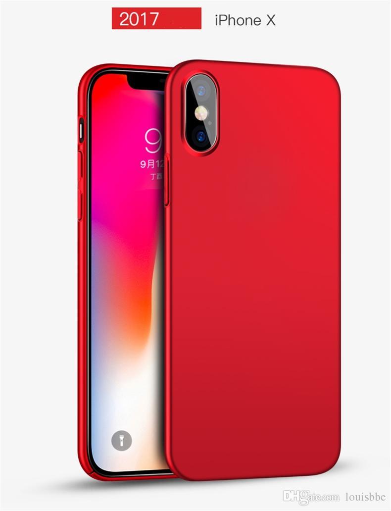 coque iphone xs slim rouge