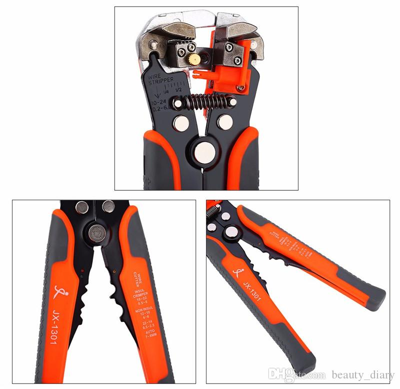 Pliers Cable Wire Stripper Cutter Crimper Automatic Multifunctional TAB Terminal Crimping Stripping Plier Tools