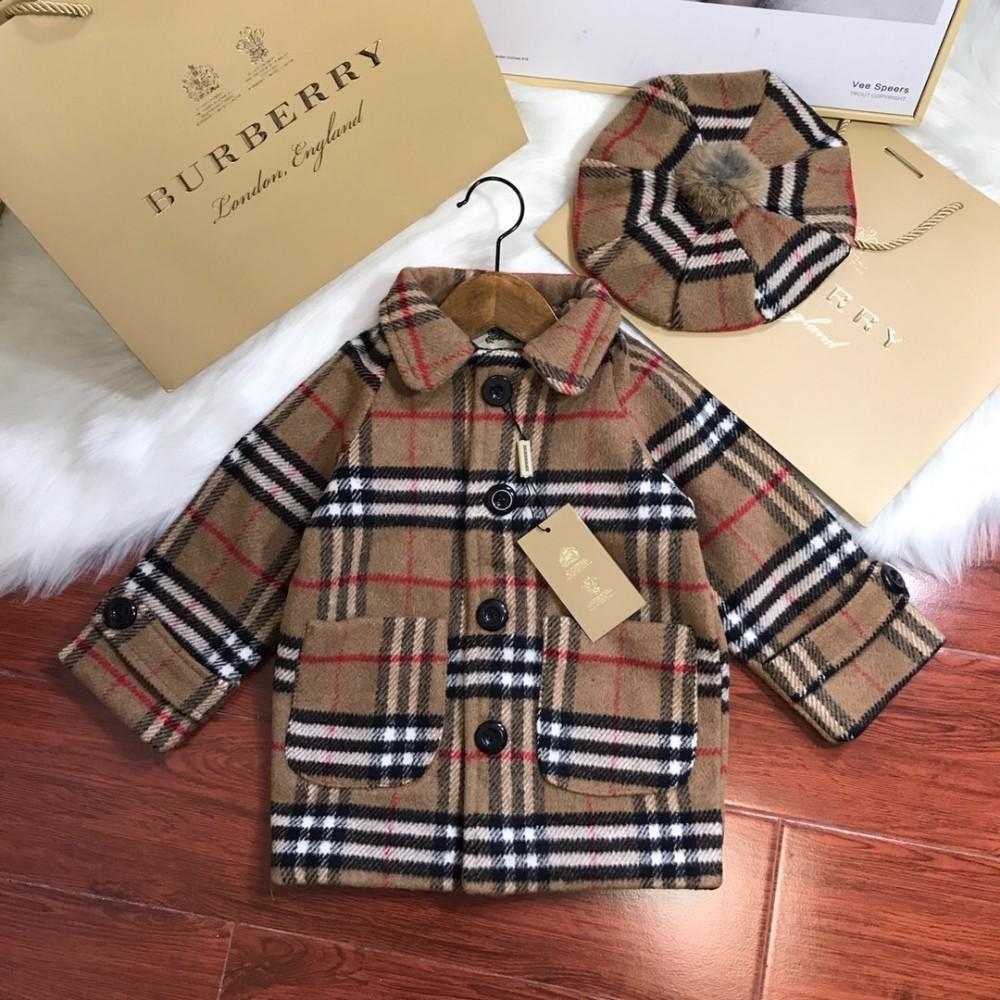 3ae52c938df6 New Autumn And Winter Products Classic Plaid Woolen Long Coat Soft ...