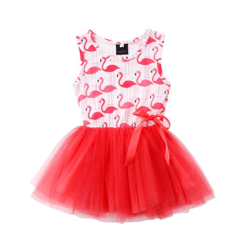 3c42630d0429 2019 Hot Sell Toddler Newborn Kids Baby Girls Dress Sleeveless ...