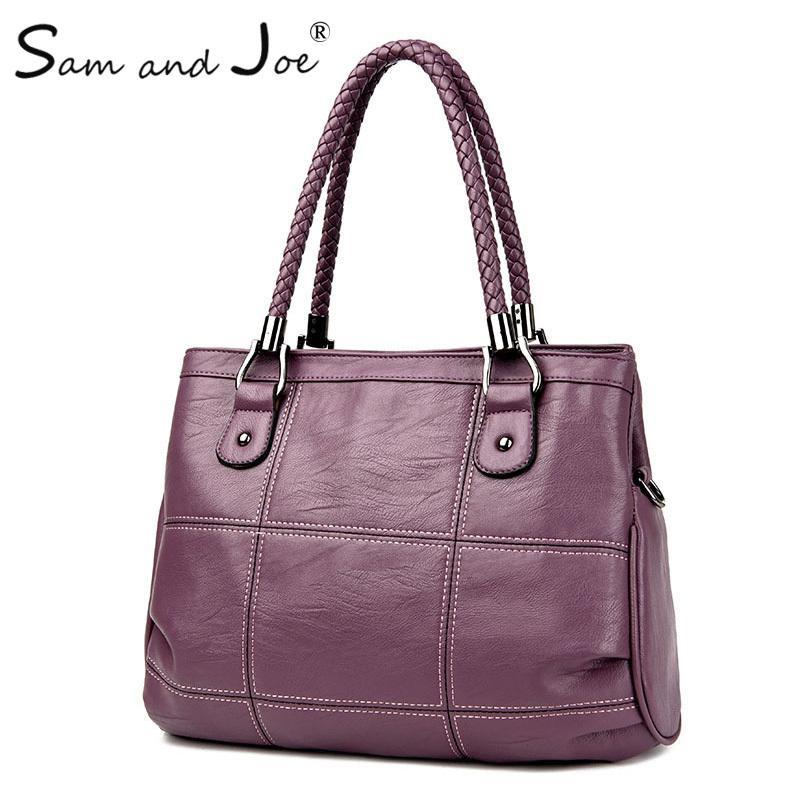 2019 Fashion 2019 New Fashion Ladies Hand Bag Women S Genuine Leather  Handbag Black Leather Tote Bag Bolsas Femininas Female Shoulder Bag Best  Messenger ... 0c5244034d