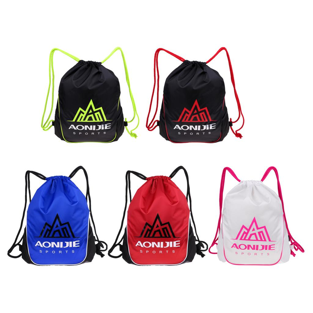 Travel Sports Yoga Gym Drawstring Bag Backpack Training Sackpack for Men Women Gym Bags