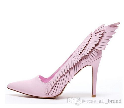 Woman S Sexy Stiletto Fashion Shoes Pink Sexy High Heels Pointed Toes  Wedding Show S Banquet Catwalk Super Heels Female Pumps Dress Shoes For Men  Leather ... af218c39ef19