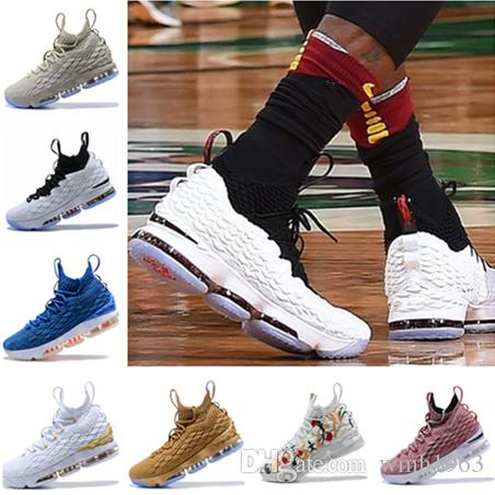 123bc9a27312 2018 Hot XV 15 EQUALITY Black White Basketball Shoes Men 15s Gold Championship  MVP Finals Trainers Designer Sneakers Running Shoes Size 7 12 Low Top ...