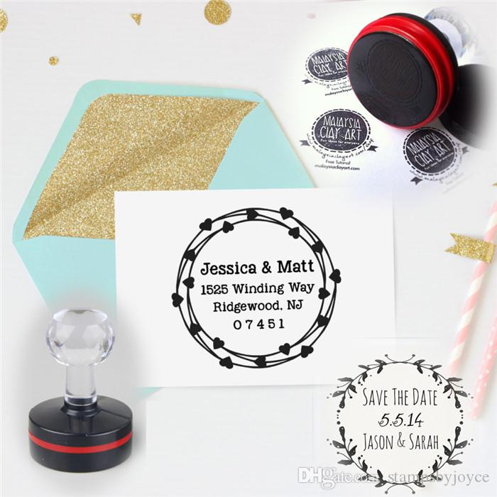 custom self inking personalized rubber stamp return business address
