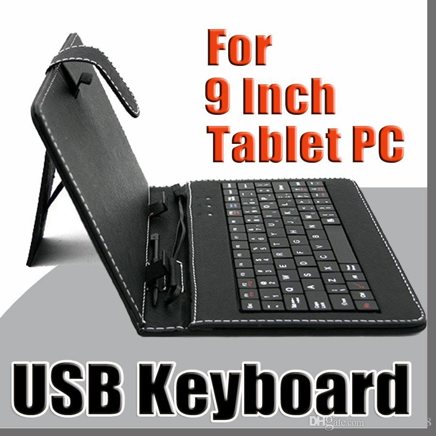 d4ac8b327ae00 Compre Cores OEM Micro Teclado USB Estojo De Couro Para 9 Polegada Tablet  Android Pc Dobrável Caso De Proteção De Couro B JP De Shenzhen848