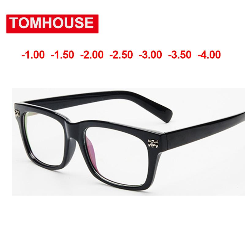 f90d21ac21c 2019 1.00 1.50 2.00 2.50 To 4.00 Myopia Glasses Women Men High Quality  Optical Eyewear Degree Prescription Glasses Frame UV400 From Kuchairly