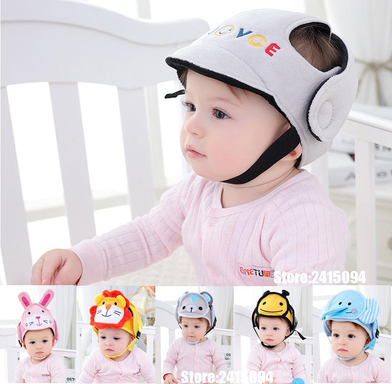 746fd9e6b Baby Protective Helmet Boy Girls Anti-collision Safety Helmet Infant  Toddler security & Protection Soft Hat for Walking Kids cap