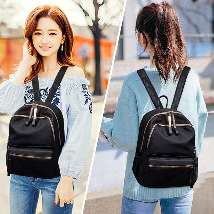 ba709823214a Backpack for women girls teenagers oxford cloth wild backpack fashion  casual bag female bag travel