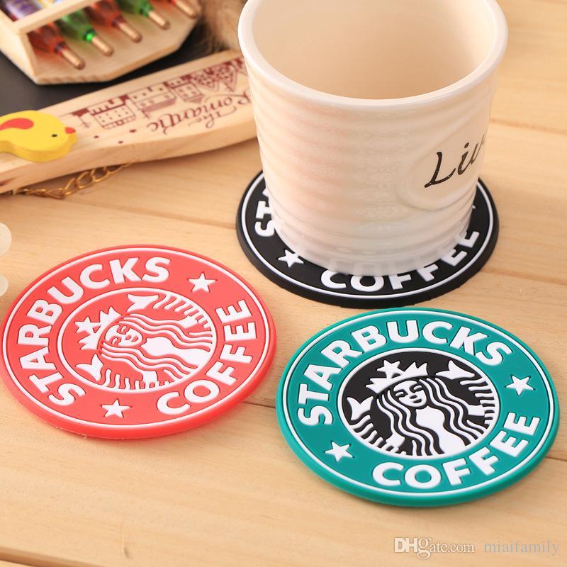 2017 yeni Silikon Bardak Fincan termo Yastık Tutucu Starbucks deniz-hizmetçi kahve Bardak Fincan Mat