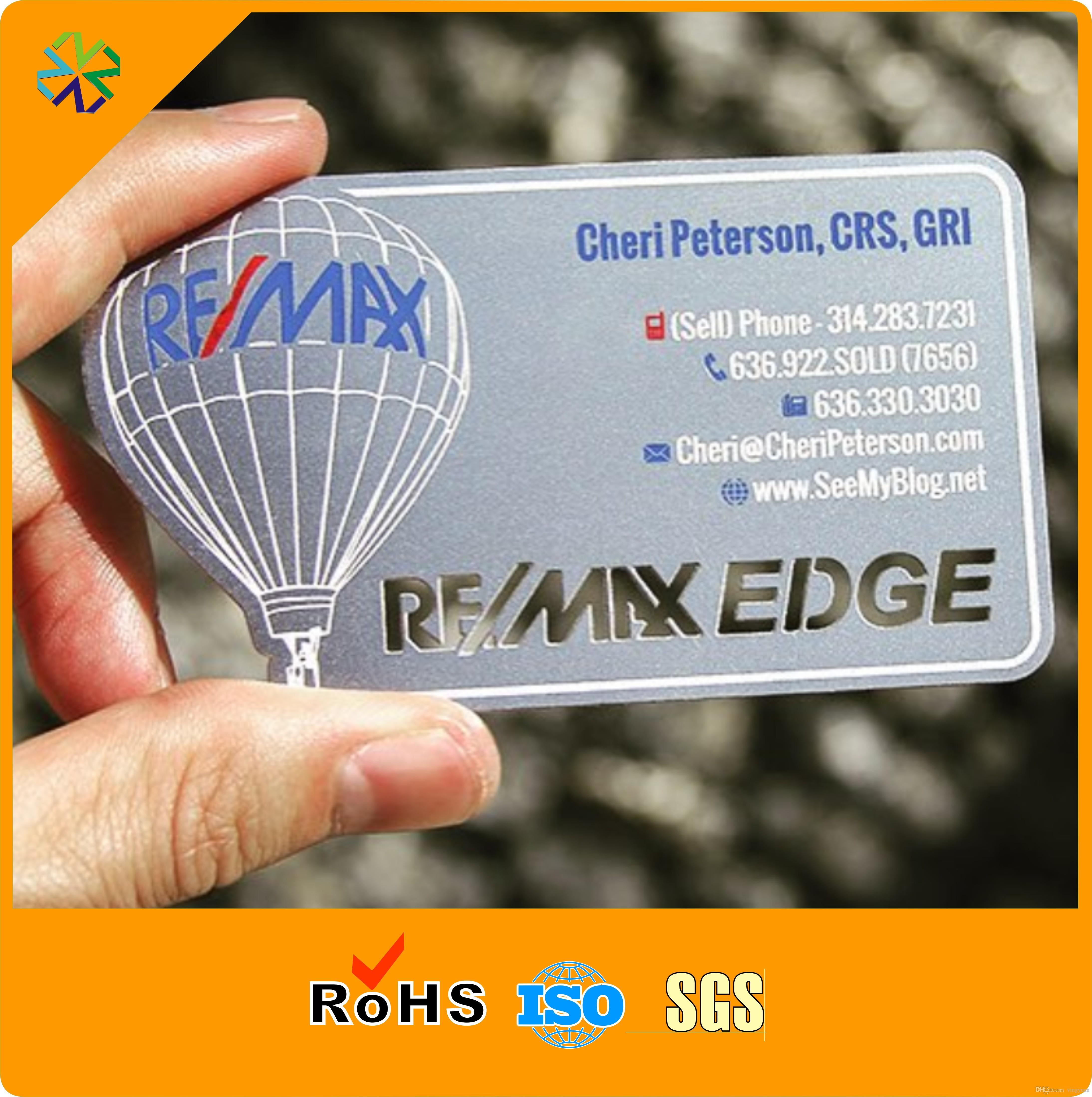 Карточка из металлической стали с эффектом матовой нержавеющей стали CR80 с шелковой печатью и покрытием