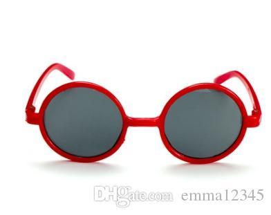 8b0d6c5b15 Fashion Girls Boys Sunglasses Brand Designer Oval Sport Children Sun  Glasses Baby Cute Round Eyeglasses For Kids Cycling Sunglasses Running  Sunglasses From ...