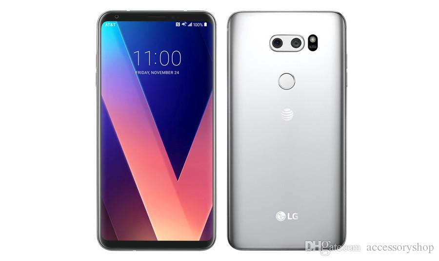 Refurbished Original LG V30 H930 H931 6.0 inch Octa Core 4GB RAM 64GB ROM 16MP Unlocked 4G LTE Smart Mobile Cell Phone Free DHL