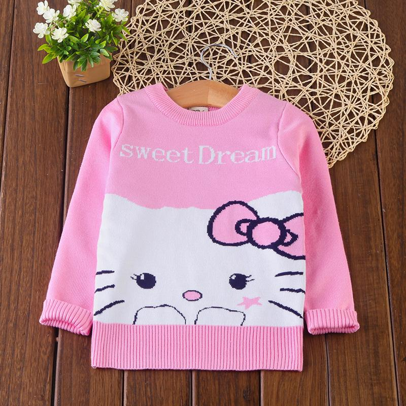 cf45f209ab1f Brands Baby Girl Winter Clothes Toddler Baby Cartoon Sweater Jumper ...