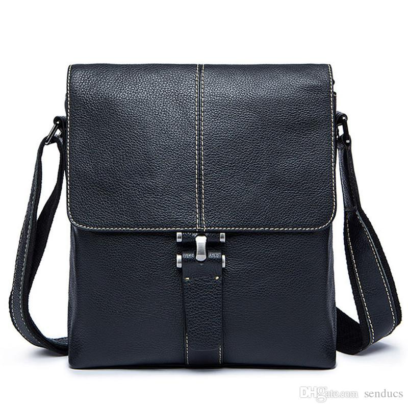 100% Genuine Leather Waist Bag Belt Genuine Leather Men Bag Men Messenger  Bags Small Travel Money Pack Shoulder Crossbody Bags Waist Pack Men Backpack  ... e1706f8200f2e