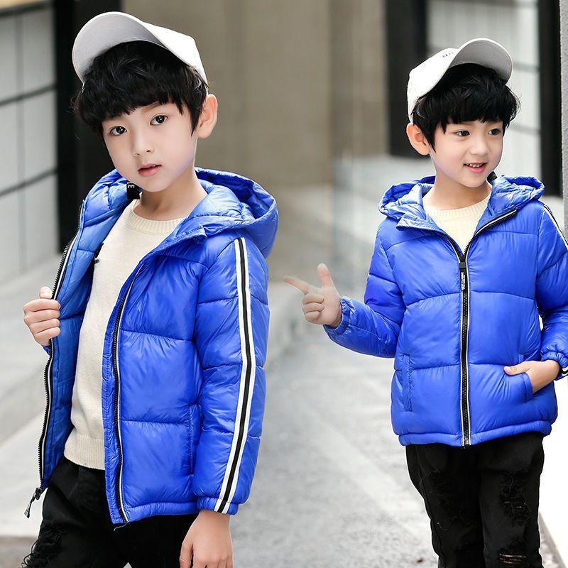 3e58c1830 Winter Boys Jacket 2018 New Brand Baby Winter Parka Boy Cotton Coats ...