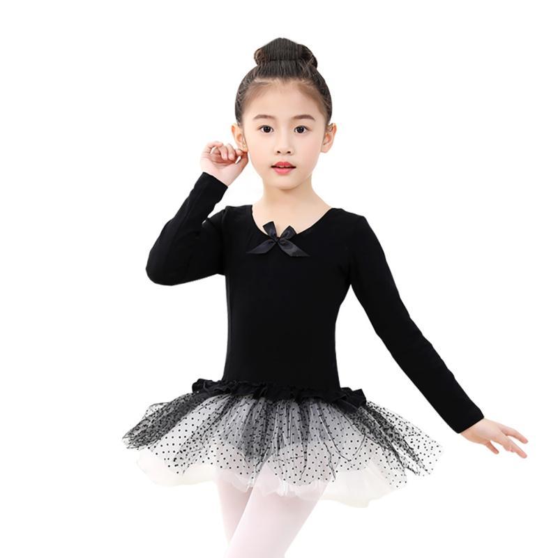 c390e70e7 2019 New Hot Long Sleeved Gymnastics Leotard Ballet Dancing Dress ...
