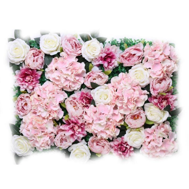 Grosshandel 60 40 Cm Kunstliche Rose Blume Wand Hochzeit Dekoration