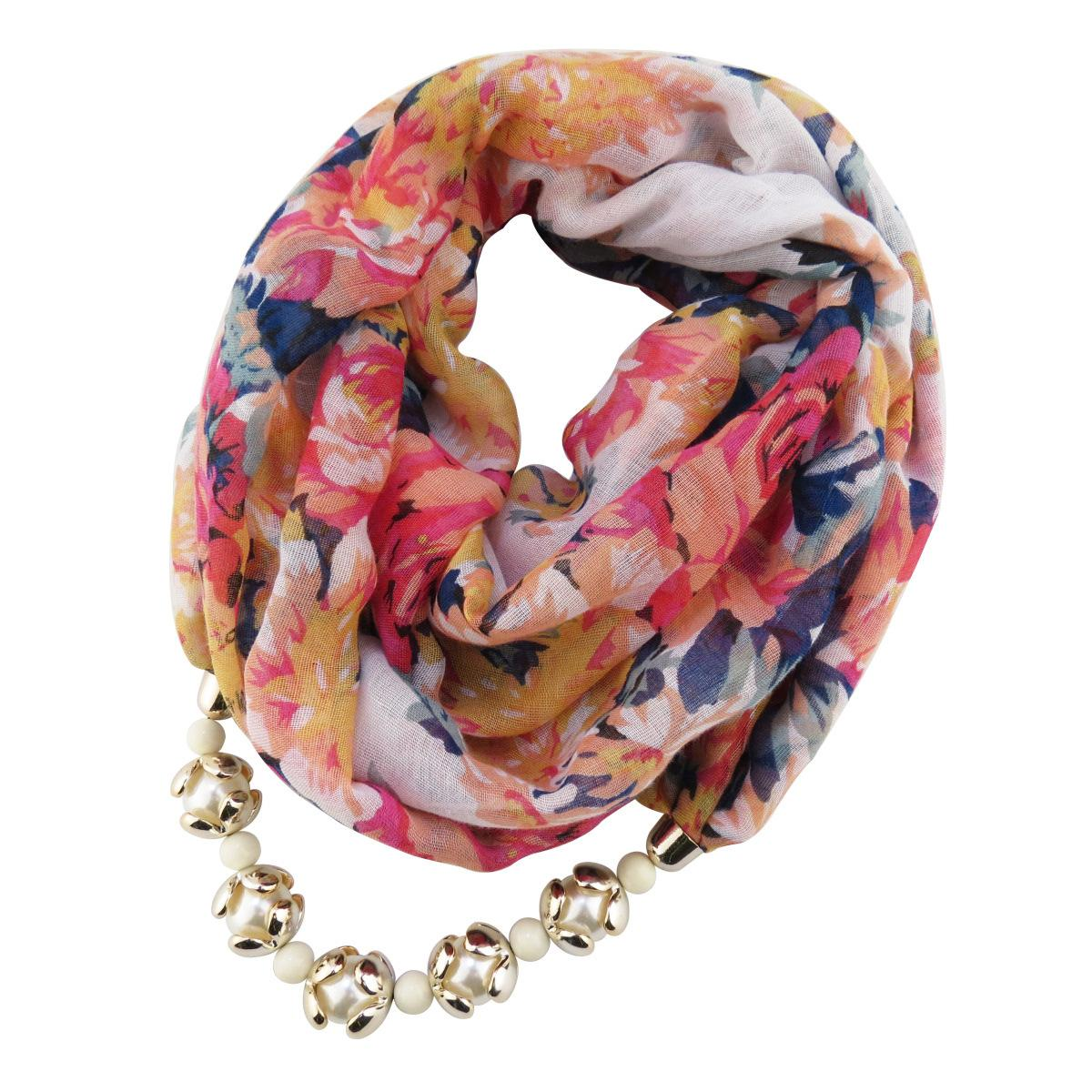 Lady flower printing pendant scarf 190cmx60cm voile necklace lady flower printing pendant scarf 190cmx60cm voile necklace pendeloque cut scarf maam scarf pendants heart jewelry factory cost wholesale scarves for sale aloadofball Image collections