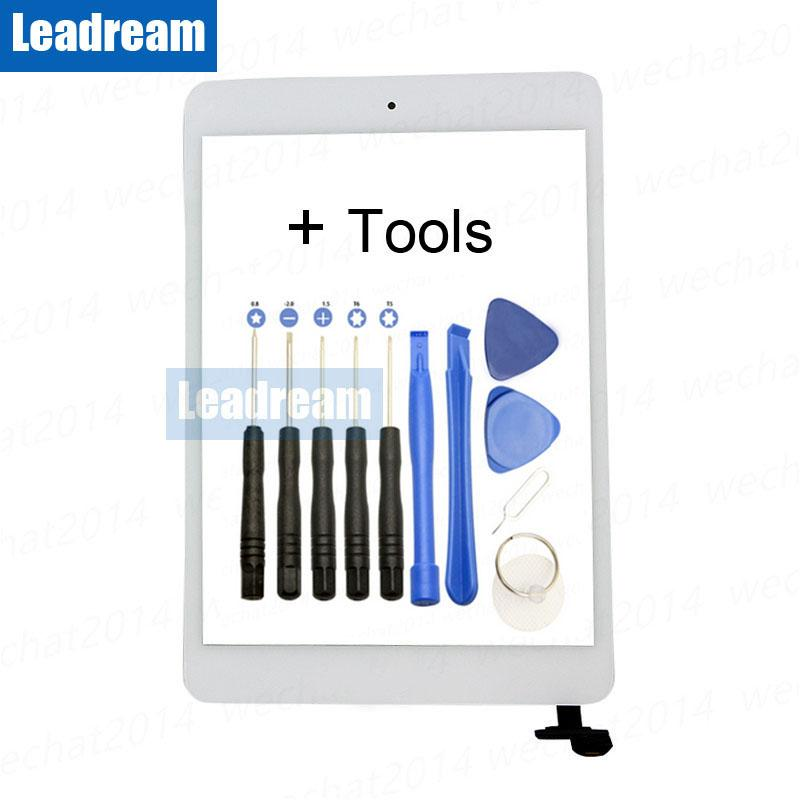 Leadream For iPad mini Digitizer Replacement for A1432 A1454 A1455 Touch  Screen with IC Connector Home Button Adhesive Tape Tool