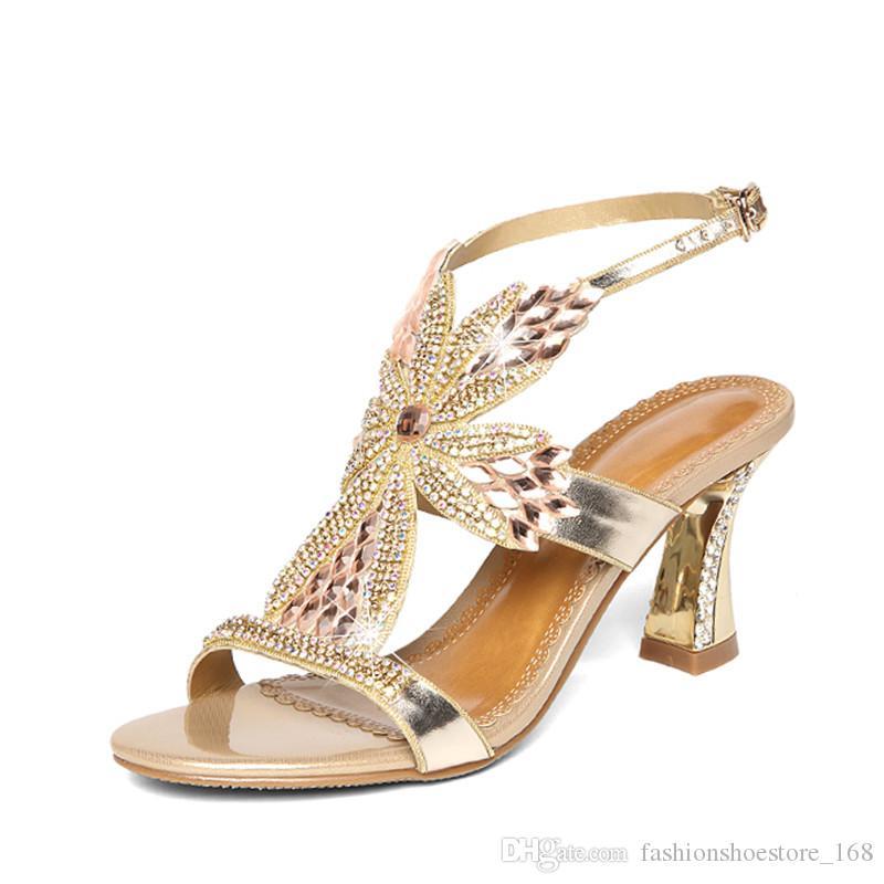Summer Shoes Ladies Sandal Leisure Fashion Bohemia Style Rhinestone  Gladiator Sandals Mujer 2018 Zapatos Peep Toe Scarpe Donna High Heels Wedge  Sneakers ... c983c7273df0