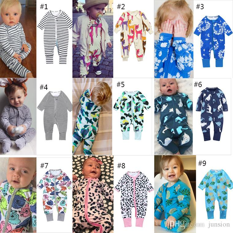 b286f06b9 2019 37 Styles Baby Floral Rompers INS Cute Body Suit Baby One Piece  Rompers Short Sleeve Romper Onesies Baby Clothing Fast Shipping From  Junsion, ...