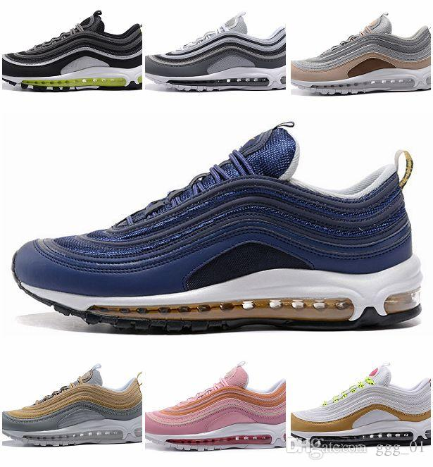 Low Price Perfect Air Sole Sports Shoes High Quality Men S And Women S 97  Running Shoes New Arrival Air Cushion OG Metallic Sneaker Shop Shoes Men  Shoes On ... ad1b806c0
