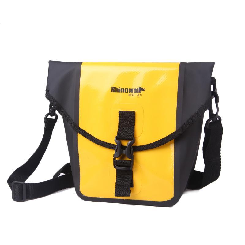 6ba04e272 3L Bike Front Bag Waterproof Bicycle Handlebar Pannier Shoulder Cycle Bags  sacoche velo Riding Equipment Rainproof Cycling Bag