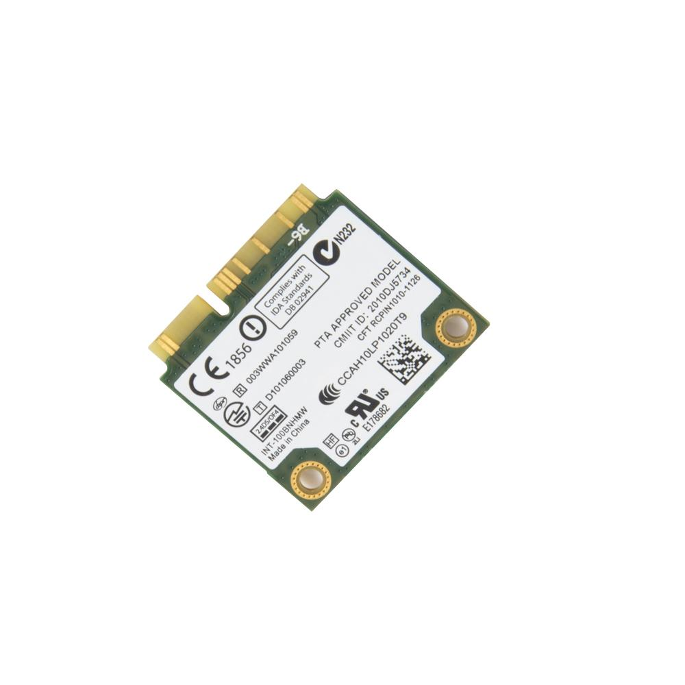 150Mbps Wifi Notebook Wlan PCIe Network Adapter For Intel Centrino Wireless-N 100 100BNHMW 802.11b/g/n 150M Half Mini PCI-E Card