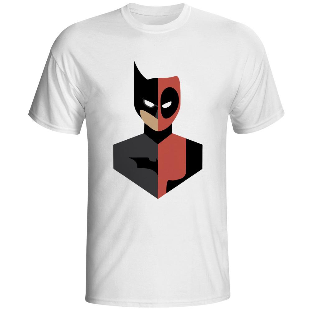 ed05356b289 New Men Summer Tops Casuals Shirts Deadpool Design Funny Superhero Printed T -shirts Online with  13.24 Piece on Qz2878193779 s Store
