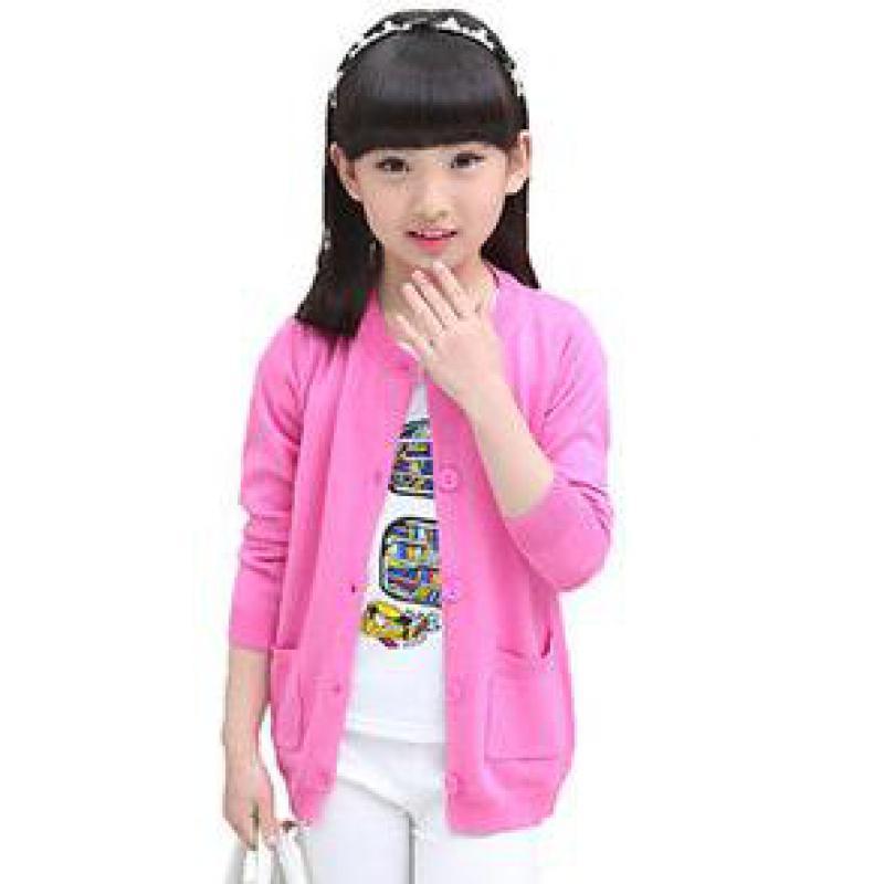 купить оптом вернуться к школе наряды дети свитер девушки с длинным