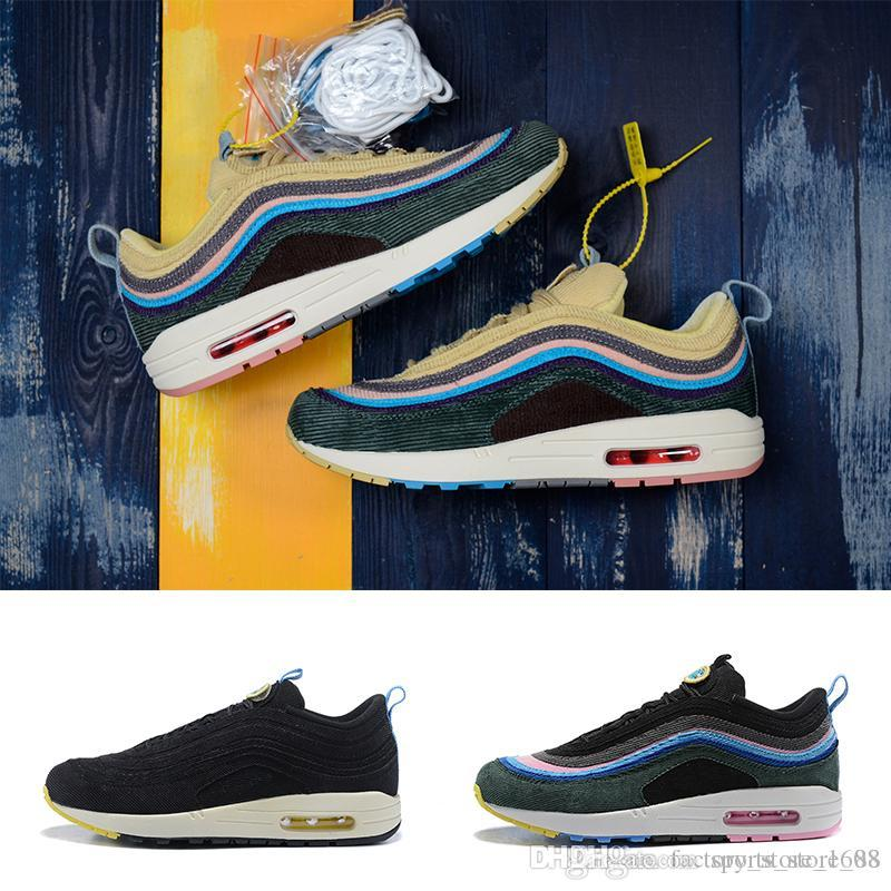 9e4aff134f0c New 97 1  1 Sean Nike Wotherspoon Sneakers Vapormax 97 Og Bullet Running  Shoes Air Cushion Undefeated Silver Metallic Gold Sports Women Shoes Mens  Sandals ...