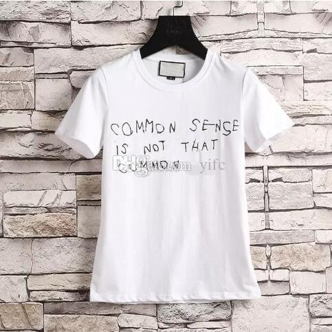 400d20f6 Fashion Luxury Brand Tag Men T-shirt Designer Common Sense Spring ...