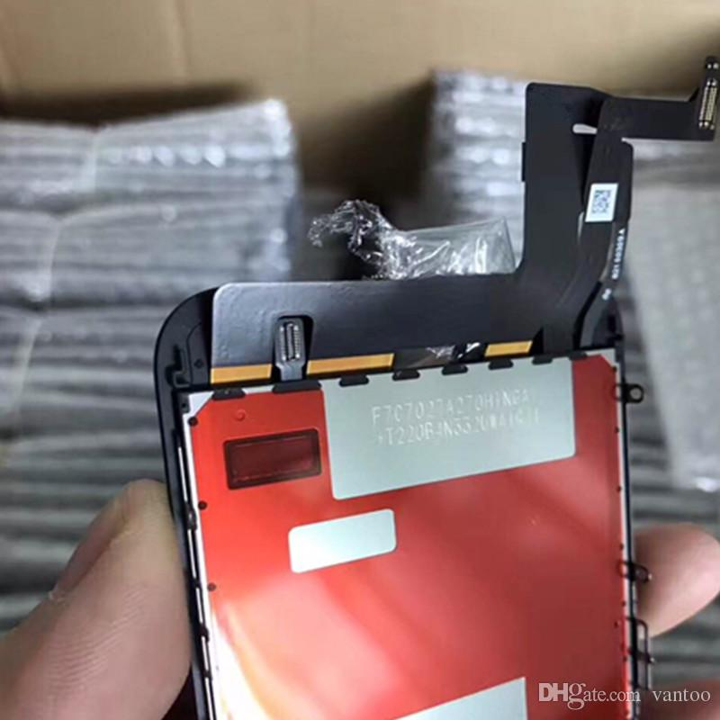 100% OEM Original LCD display touch Screen Digitizer Assembly With frame 3D Touch cell phone replacement parts For iphone 7
