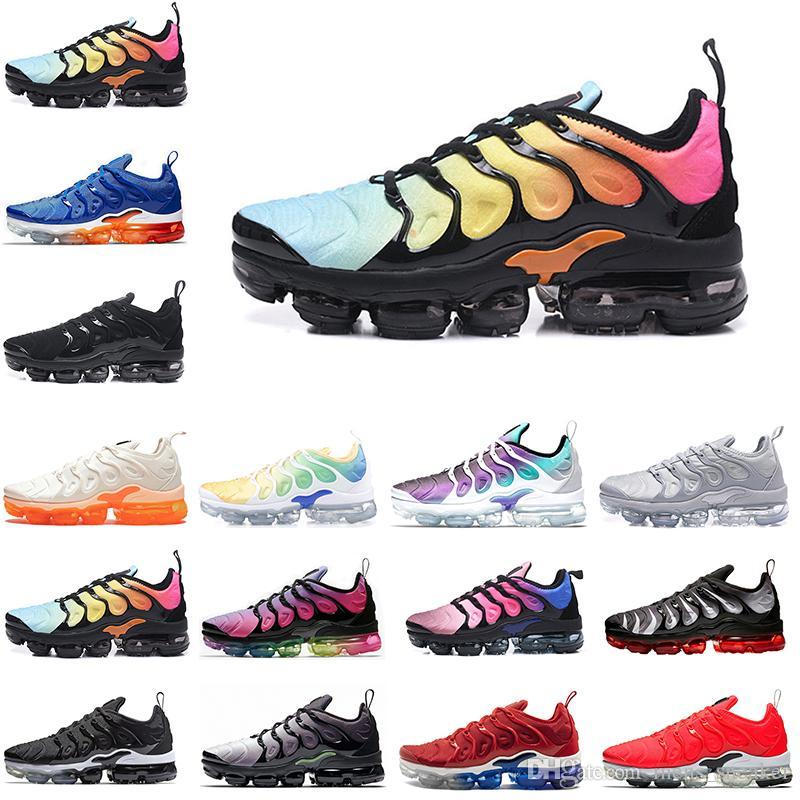 cf5642db52dc8 Cheap New VM Tn Bleadched Aqua USA Betrue Women Sneakers Hyper Violet Volt  Grape Mens Trainers Sport Shoes Size US 5-11 Vapor TN Women Shoes Mens  Trainers ...