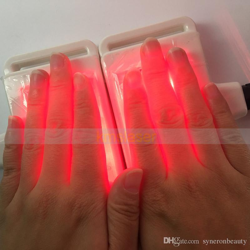 10 Padillas láser Zerona Lipólisis fría Lipolaser Diodo Equipo de adelgazamiento