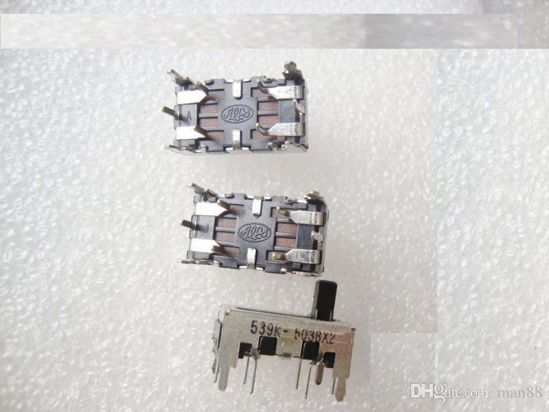 Japón ALPS diapositivas potenciómetro ajustable B503 B50K amplificador de coche equilibrada