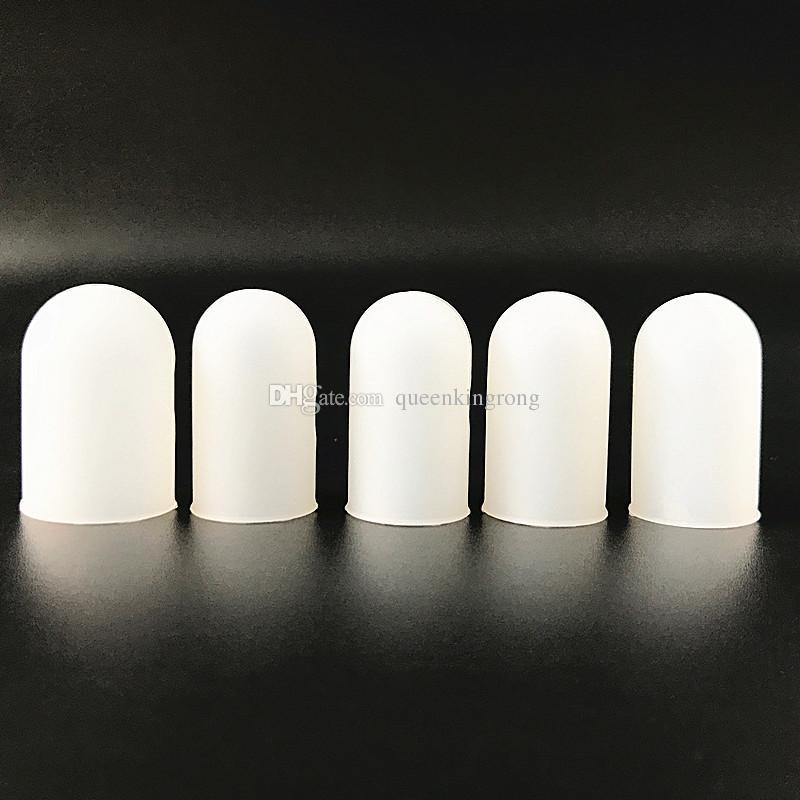 مكافحة تحرق الغذاء الصف سيليكون فنجر مجموعة غطاء العزل المضادة للانزلاق حامي فنجر الشواية الإصبع قطعة أثرية 5 قطعة / المجموعة