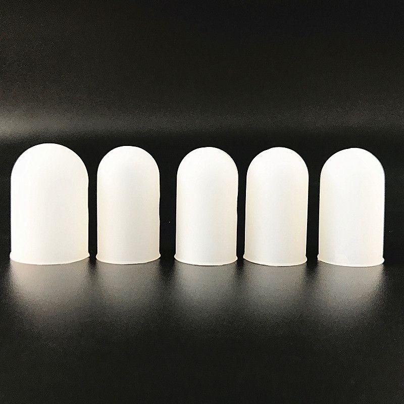 Anti-haşlanma gıda sınıfı silikon parmak Seti kapak Yalıtım kaymaz parmak koruyucusu Barbekü parmak eserdir 5 adet / takım