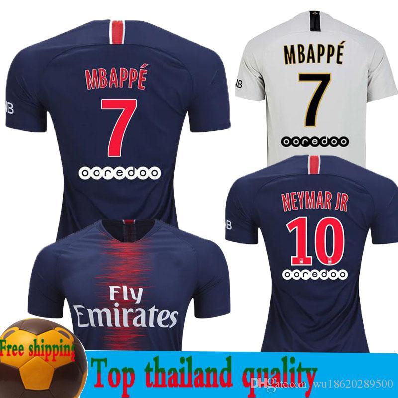 2018 2019 PARIS PsG Maillot MBAPPE DI MARIA Jersey De Fútbol Local Lejos  VERRATTI MATUIDI CAVANI ZLATAN MAILLOT CAMISA Uniforme De Fútbol Por  Wu18620289500 14d016f2c6f36