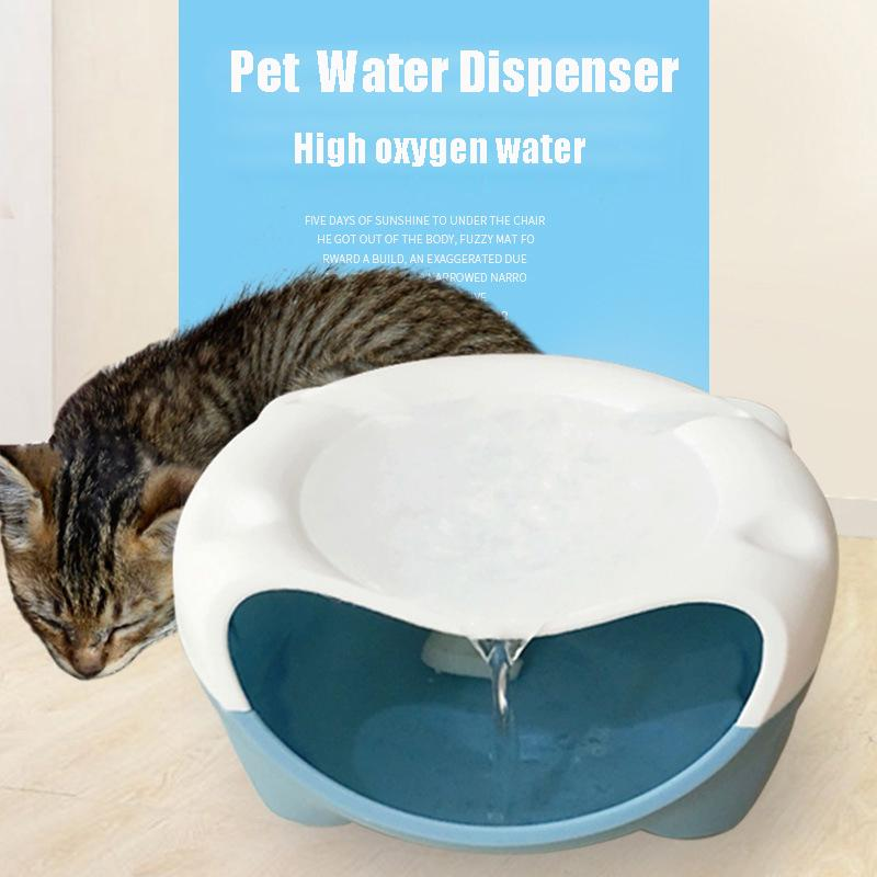 Cat Supplies Pet Supplies Electric Pump Fresh Water Drinking Fountain Bowl Dish For Cats And Small Dogs