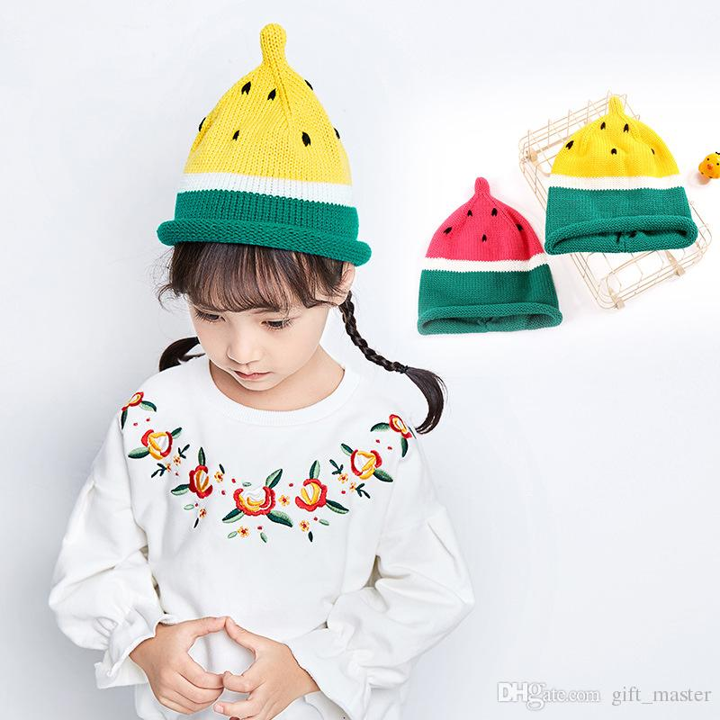 2019 Children\'S Winter Crochet Hat Cute Baby Boys Girls Knit ...