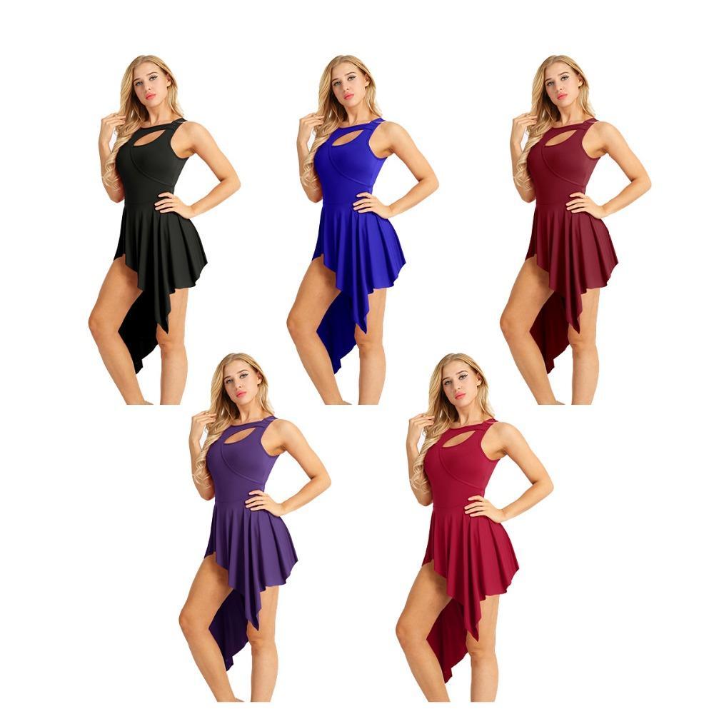 b7989a6c9e9b 2019 Allet Dance Dresses IEFiEL Hot Ballet Leotards For Women Adult ...