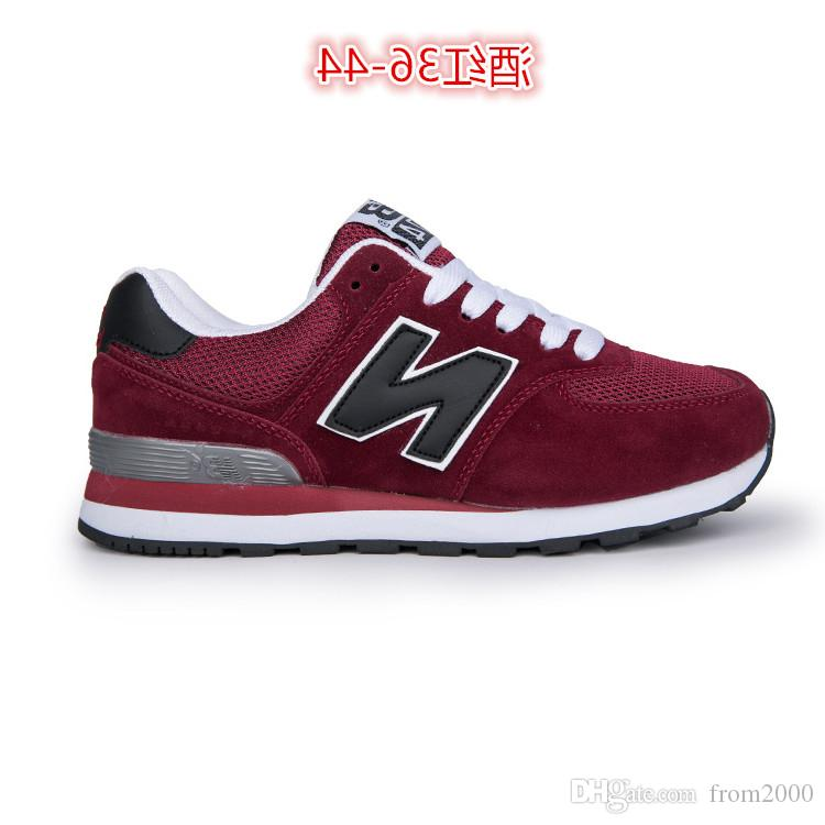 sports shoes 9b1da 5f942 New Original Brand BALANCE NB574 Men Women Casual Shoes NB 574 outdoor  Black white limited edition Badminton Running Trainer sports Sneakers