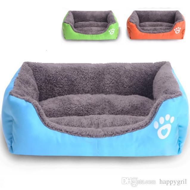 Großhandel Weiches Tuch Stoff Hund Haus Sofa Haustier Bett Hund