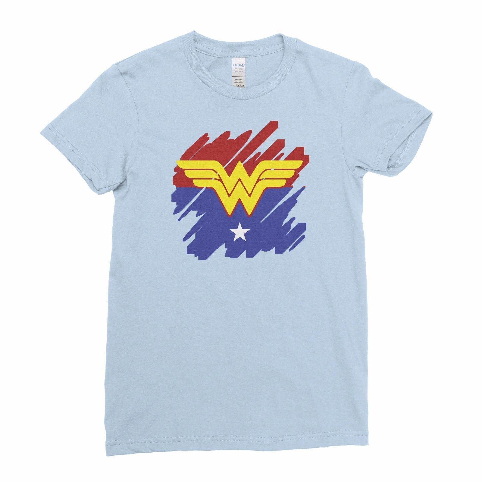 f52963e4724d Wonder Woman Diana Comic Superhero Women T Shirt Tee Top Art Cool Casual  Pride T Shirt Men Unisex New Fashion Tshirt T Shirt Shop Design Crazy T  Shirts ...