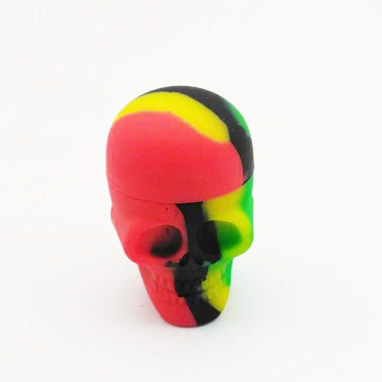 NUOVO cranio sigaretta elettronica scatola di olio di silicone sigaretta 15 ml serbatoio di stoccaggio di olio fumare bong strumento di vetro spedizione gratuita