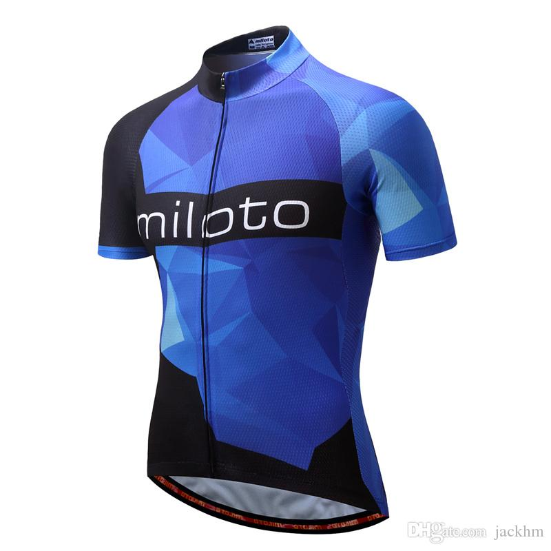 5a9b4332d Miloto Brand Quick Dry Breathable Cycling Jersey Short Sleeve Summer Men s Shirt  Bicycle Wear Racing Tops Bike Cycling Clothing Cycling Shirts   Tops ...
